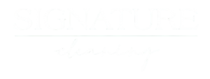 signature cleaning logo
